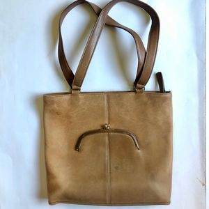 Rare Vintage Coach Legacy Leather Bag Made in NYC